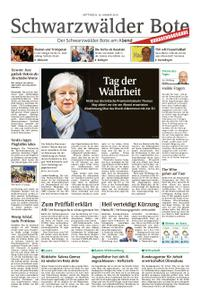 Schwarzwälder Bote Hechingen - 16. Januar 2019