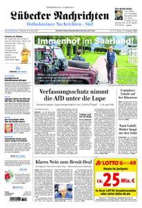 Lübecker Nachrichten Ostholstein Süd - 16. Januar 2019