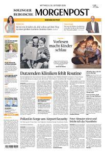 Solinger Morgenpost – 30. Oktober 2019
