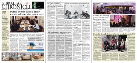 Gibraltar Chronicle – 06 March 2020