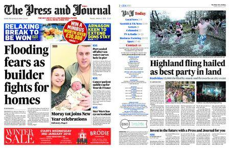 The Press and Journal Moray – January 02, 2018