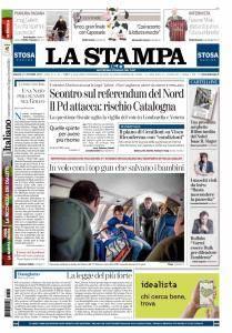 La Stampa Imperia e Sanremo - 21 Ottobre 2017