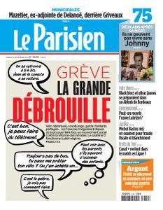 Le Parisien du Mardi 10 Décembre 2019