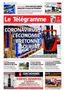Le Télégramme Concarneau – 07 mars 2020