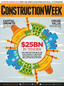 Construction Week Middle East – March 23, 2019