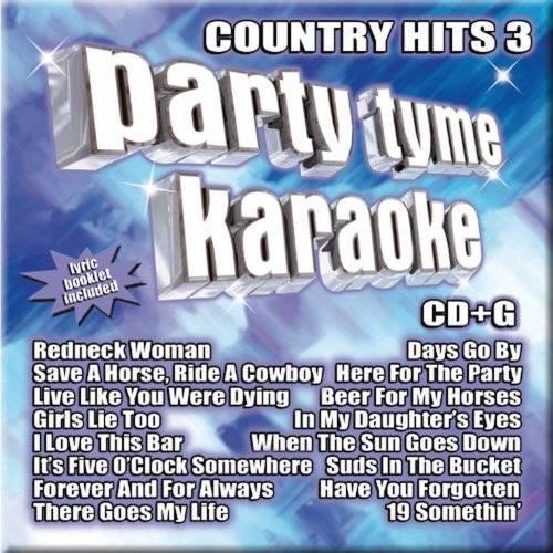 Party Tyme Karaoke Country Hits Vol. 3