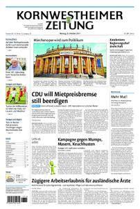 Kornwestheimer Zeitung - 23. Oktober 2017