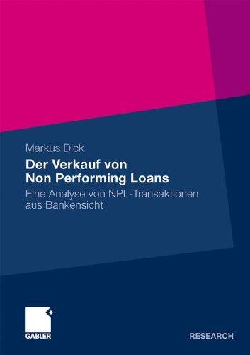 Der Verkauf von Non Performing Loans [Repost]