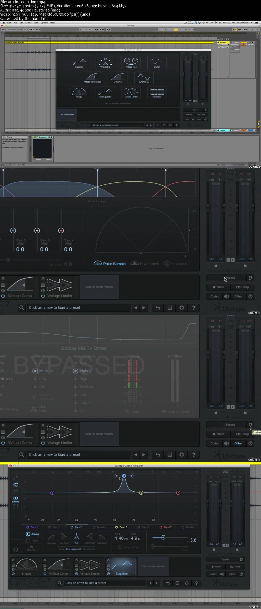 Mastering EDM With Izotope Ozone 7 (2016)