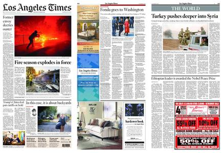 Los Angeles Times – October 12, 2019
