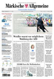 Märkische Allgemeine Luckenwalder Rundschau - 12. August 2019