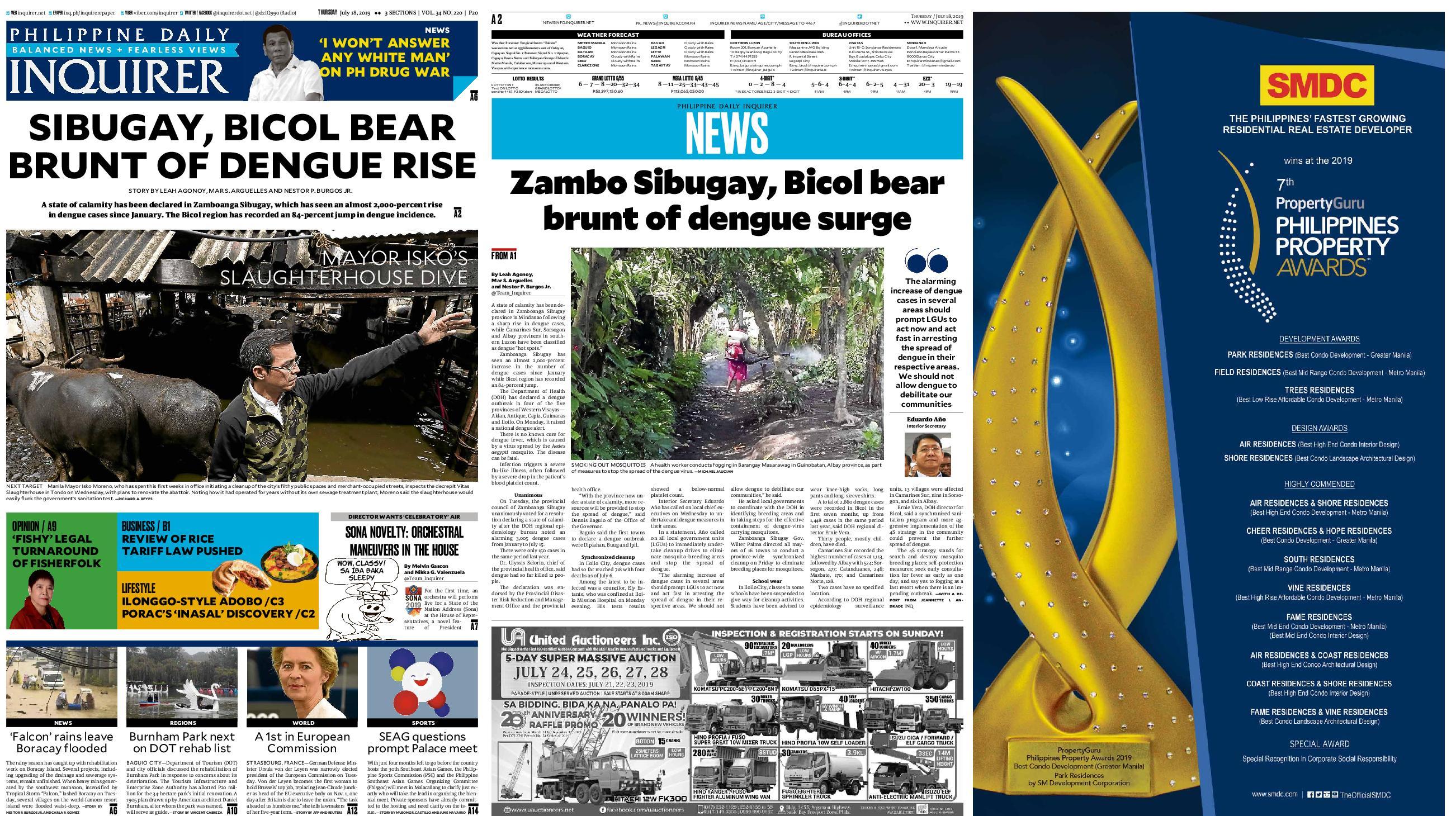 Latest Philippines Headlines Breaking News Media & Sports News