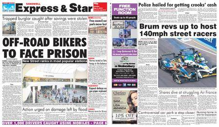 Express and Star Sandwell Edition – May 08, 2018