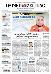 Ostsee Zeitung Wolgast - 24. Januar 2018
