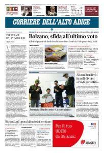 Corriere dell'Alto Adige - 4 Marzo 2018