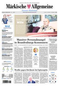 Märkische Allgemeine Zossener Rundschau - 22. Oktober 2018