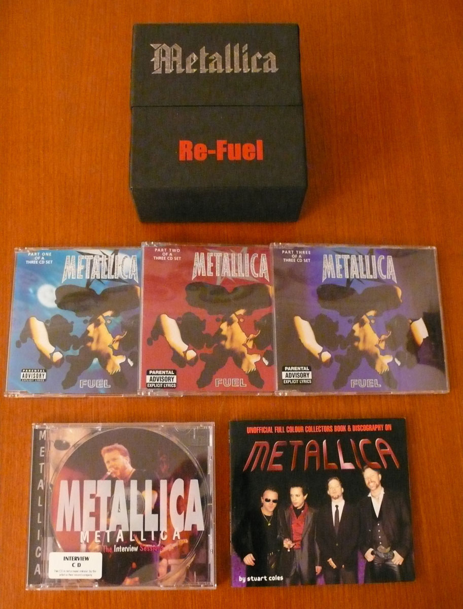 Metallica - Re-Fuel (2004) [4CD Bootleg Flip-Top Box Set