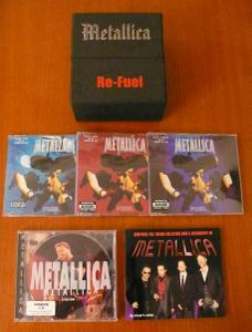 Metallica - Re-Fuel (2004) [4CD Bootleg Flip-Top Box Set]