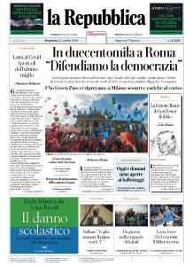la Repubblica - 17 Ottobre 2021