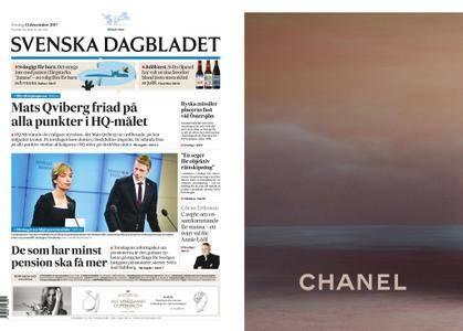 Svenska Dagbladet – 15 december 2017