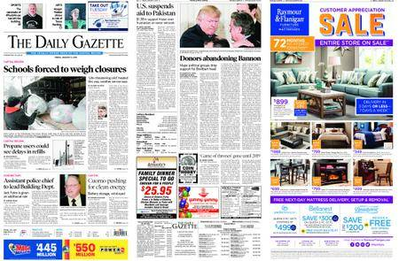 The Daily Gazette – January 05, 2018
