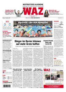 WAZ Westdeutsche Allgemeine Zeitung Oberhausen-Sterkrade - 15. Dezember 2017