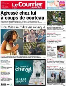 Le Courrier de l'Ouest Cholet - 7 Novembre 2017
