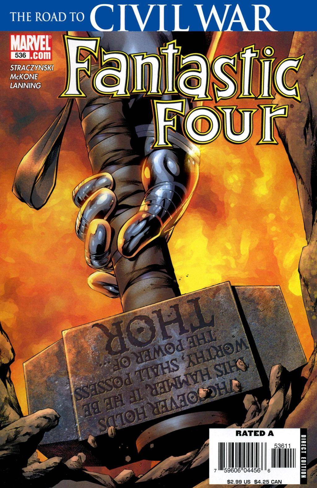 Fantastic Four 536