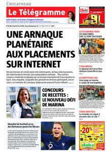 Le Télégramme Concarneau – 03 mai 2019