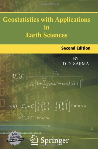 Geostatistics with Applications in Earth Sciences (repost)