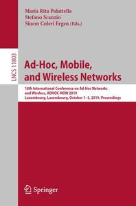 Ad-Hoc, Mobile, and Wireless Networks