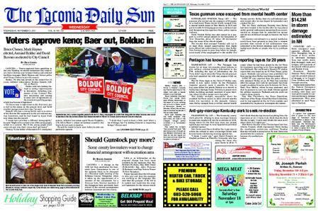 The Laconia Daily Sun – November 08, 2017