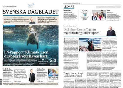 Svenska Dagbladet – 26 september 2019