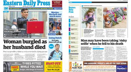 Eastern Daily Press – March 12, 2020
