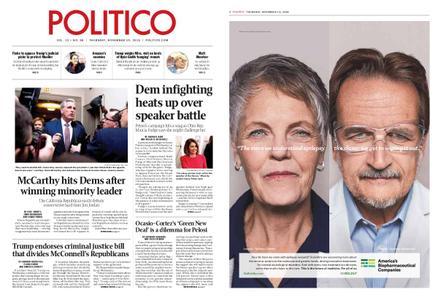 Politico – November 15, 2018