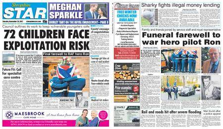 Shropshire Star Shrewsbury Edition – November 28, 2017