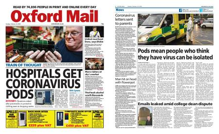 Oxford Mail – February 18, 2020