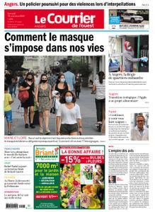 Le Courrier de l'Ouest Angers – 10 octobre 2020