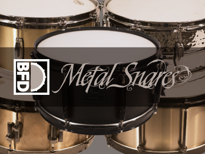 FXpansion BFD Metal Snares for BFD3 WiN