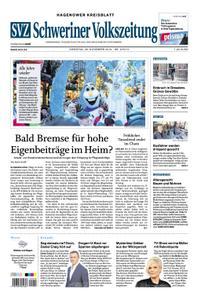 Schweriner Volkszeitung Hagenower Kreisblatt - 26. November 2019