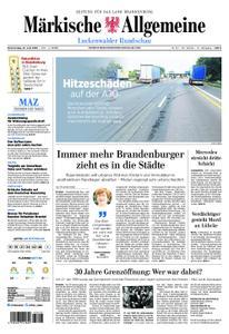 Märkische Allgemeine Luckenwalder Rundschau - 27. Juni 2019