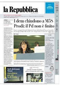 la Repubblica - 8 Marzo 2018