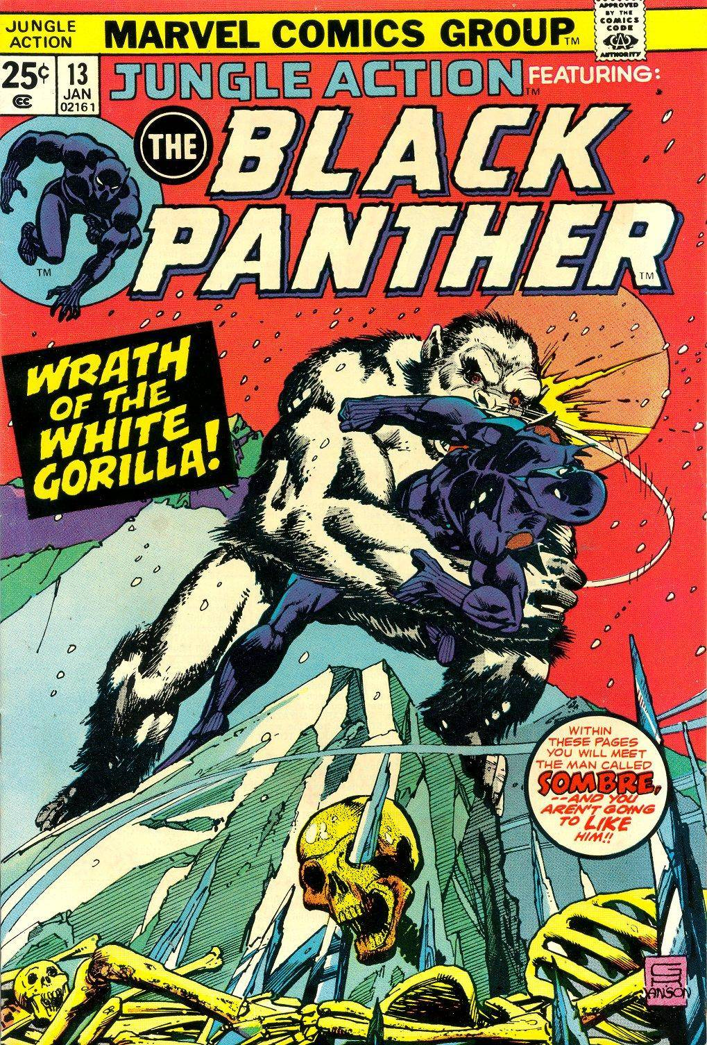 Jungle Action v2 013 featuring Black Panther