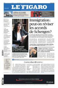 Le Figaro du Vendredi 8 Mars 2019