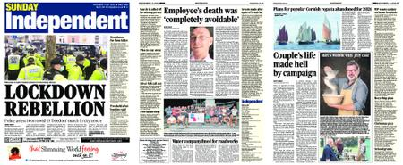 Sunday Independent Bristol Yeovil and Somerset – November 15, 2020