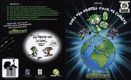 Les Carnets de Grrreeny - Tome 1 - Sors Tes Griffes Pour Ta Planète