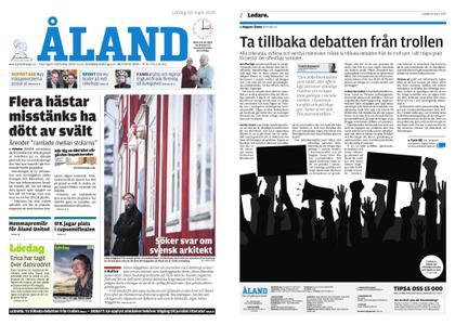 Ålandstidningen – 30 mars 2019