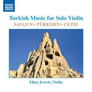 Ellen Jewett - Turkish Music for Solo Violin (2019)