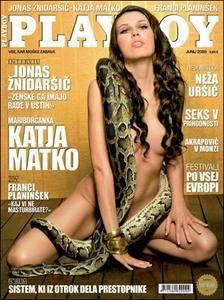 Playboy Slovenia - Junij 2009