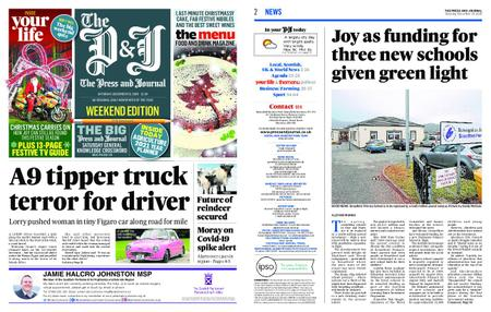The Press and Journal Moray – December 19, 2020